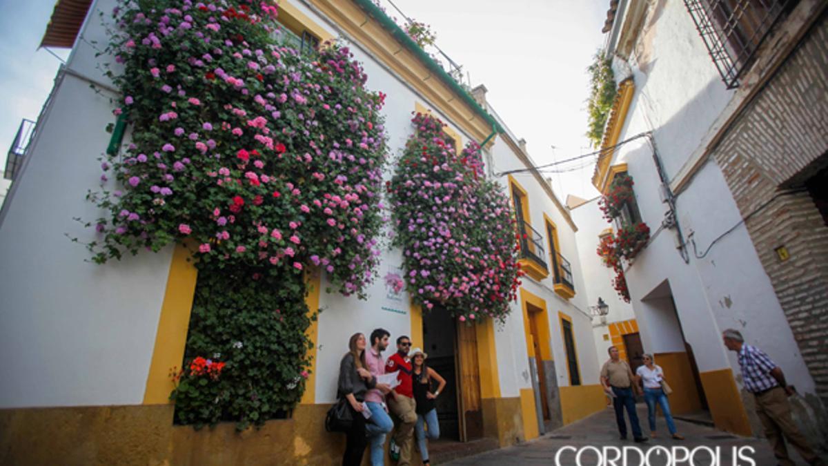 Reja de la calle Julio Romero de Torres 9, ganadora en el Concurso de Rejas y Balcones de 2015