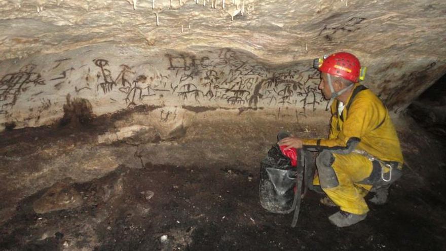 Estado mexicano de Campeche alberga tesoro de pinturas rupestres mayas