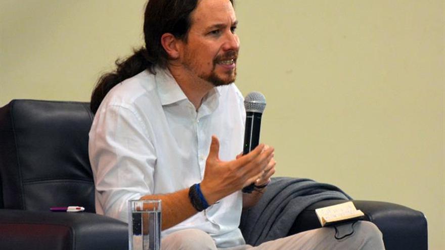 """El líder de Podemos dice que """"España nunca ha sido uninacional"""""""
