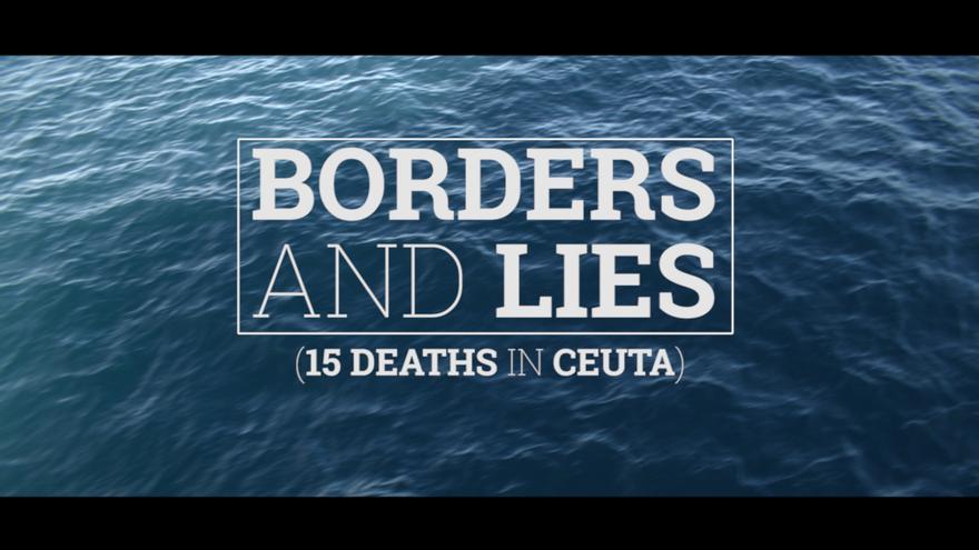 Fotograma del vídeo 'Las muertes de Ceuta', en inglés, de Desalambre. / eldiario.es.