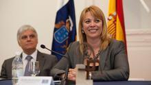 José Miguel Pérez e Isabel Guerra  (Prensa Cabildo Gran Canaria/ Quique Curbelo)