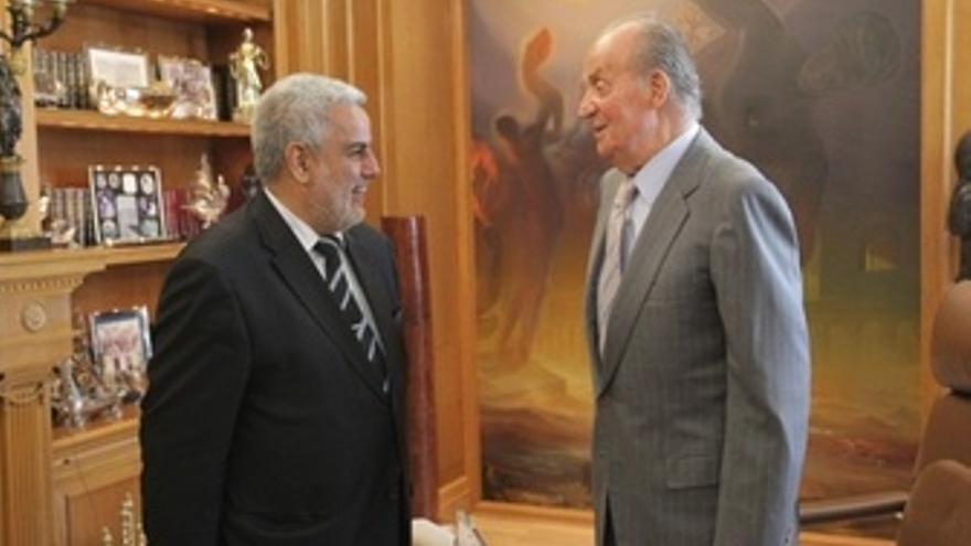 Abdelilah Benkirane, Primer Ministro Marroquí, Con El Rey
