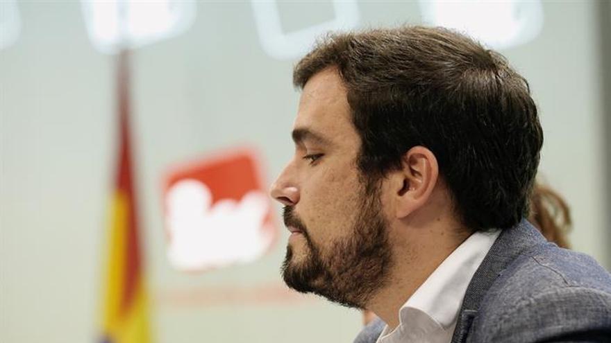 Alberto Garzón, durante Consejo Político Federal.