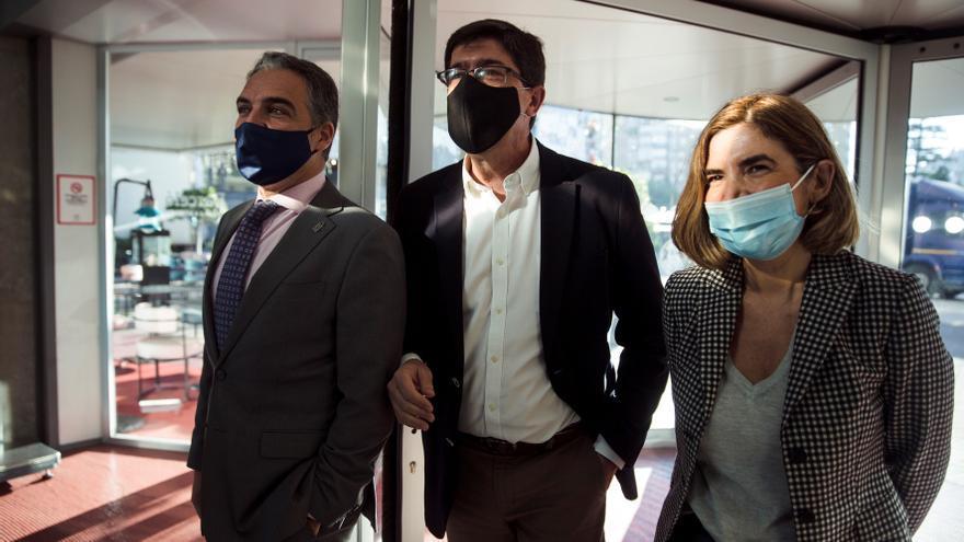 Marín no descarta que Ciudadanos concurra con el PP en las elecciones andaluzas