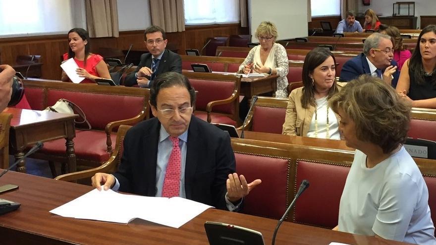 Se suspende la sesión de la Comisión del Senado sobre financiación política por problemas lumínicos
