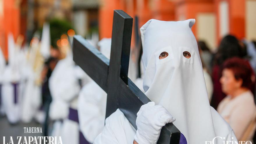 Penitente de la Misericordia, en 2018 | ÁLEX GALLEGOS