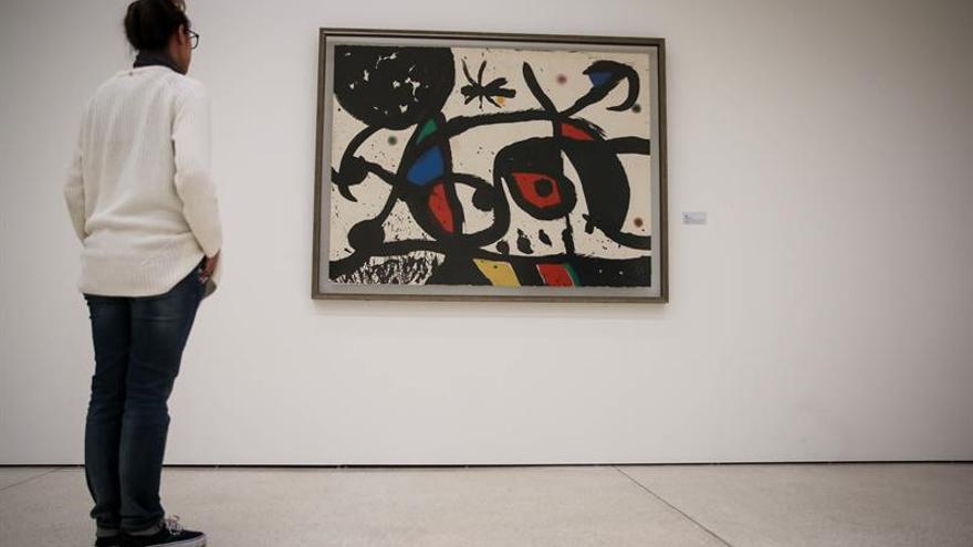 Las obras de Joan Miró del Estado luso se expondrán en Lisboa en septiembre