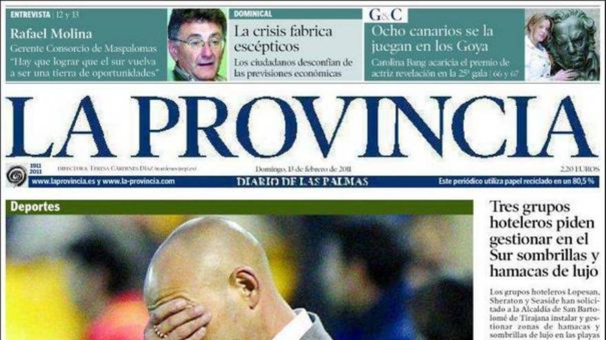 De las portadas del día (13/02/2011) #4