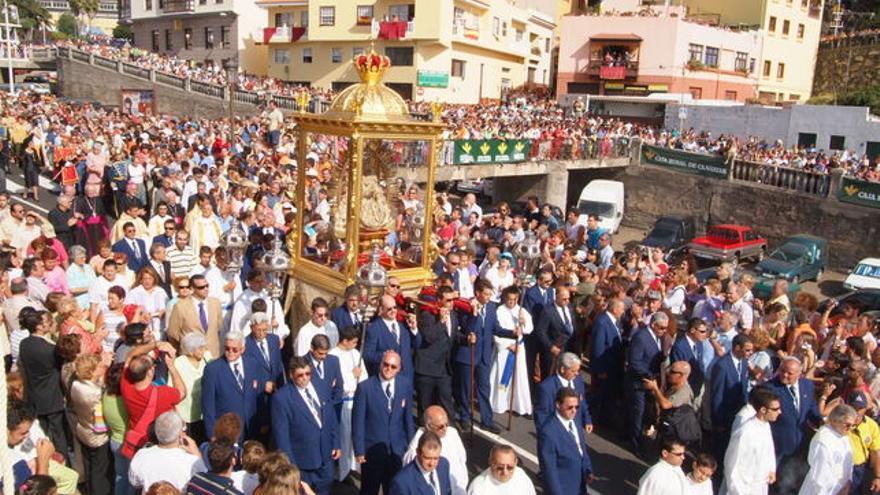 Imagen de la Bajada de la Virgen.