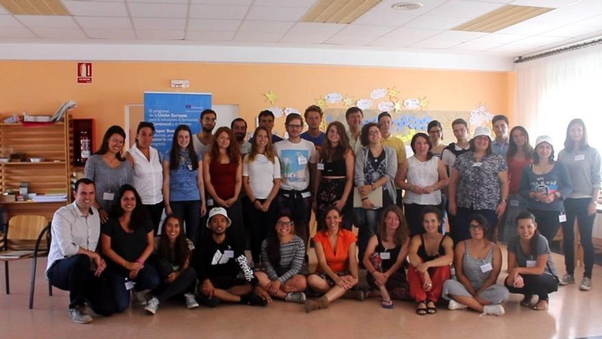 Se inicia en Alsasua el curso de formación para voluntarios europeos del programa 'Erasmus+'