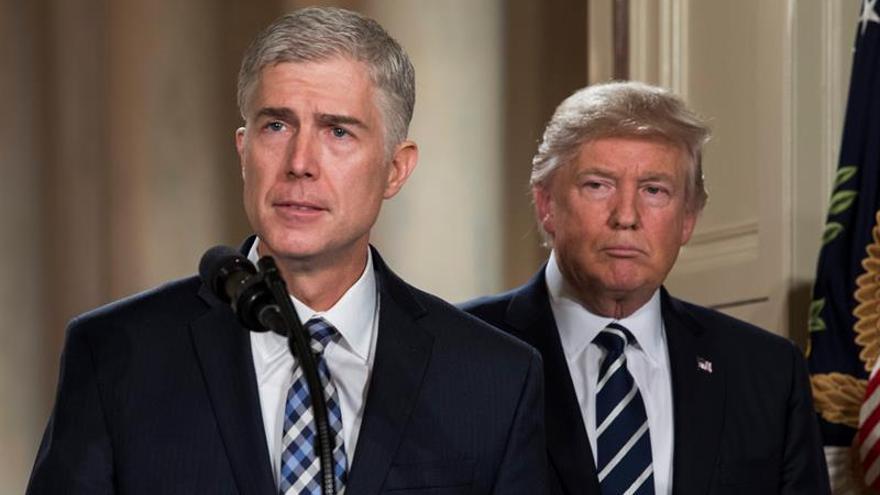 Trump elige a un férreo conservador como juez vitalicio en el Supremo de EE.UU.
