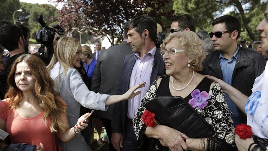 """Carmena: """"El 15M fue un movimiento maravilloso"""""""