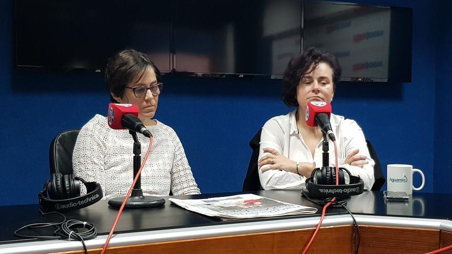Montserrat González y Gemma de Lucas.