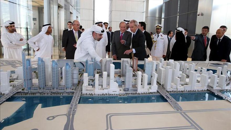 El Rey de España en su visita al Golfo Pérsico a mediados de abril