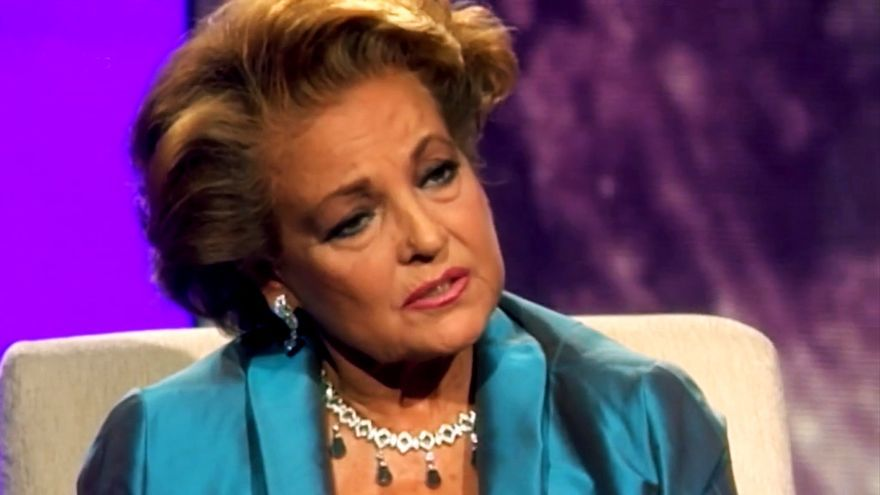 Carmen Sevilla en una imagen de TVE