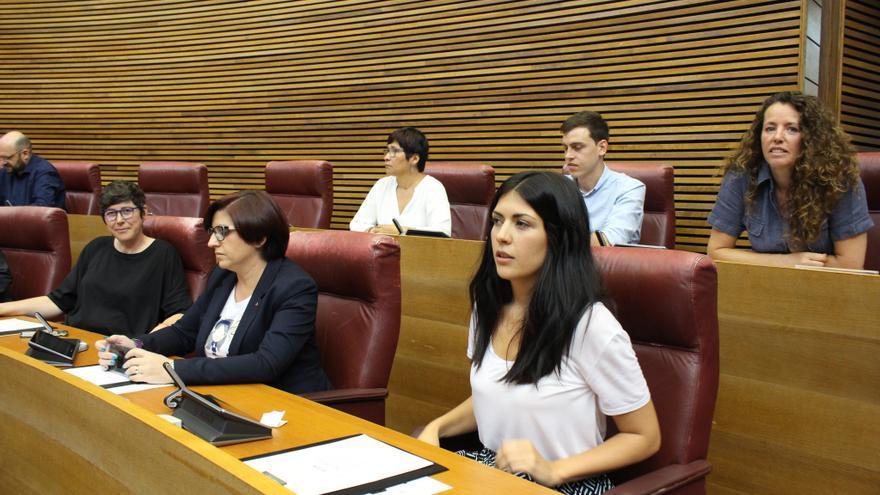 Diputados de Podem en las Corts Valencianes