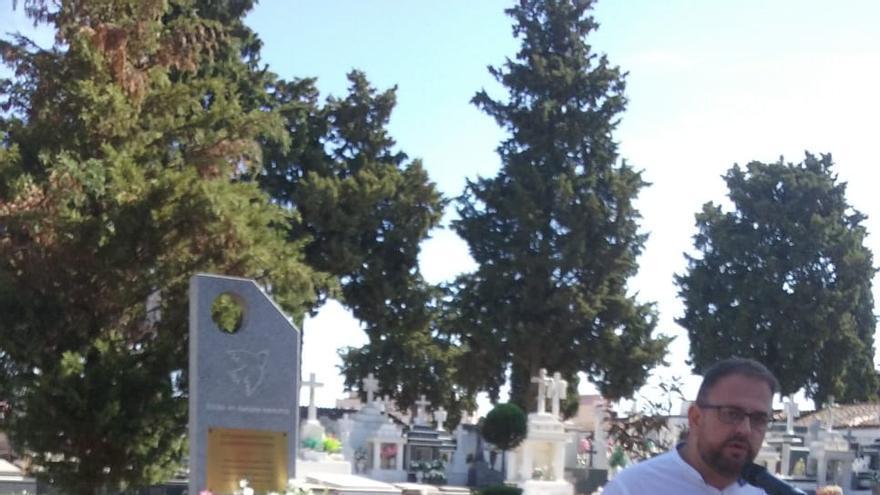 Mérida represion franquista cementerio