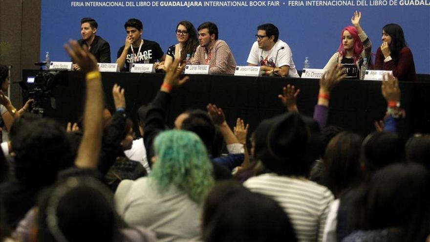 Youtube, el club de lectura más grande del mundo, invade la FIL mexicana