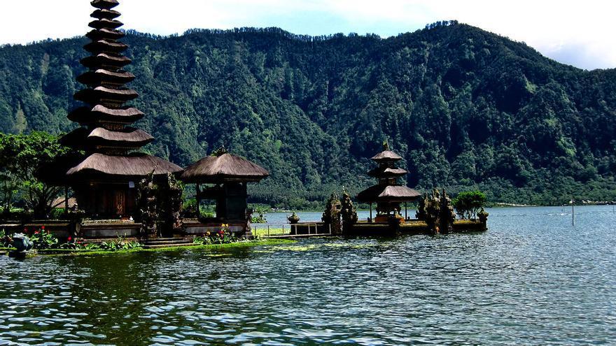 Pura Ulun Danu Bratán, una de las imágenes icónicas de Bali.
