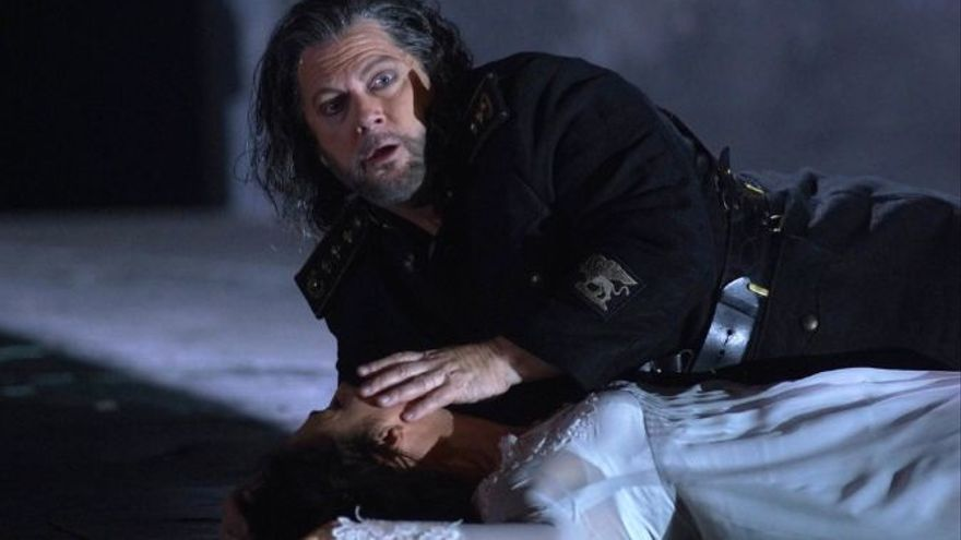 El nuevo Otello blanco del Teatro Real