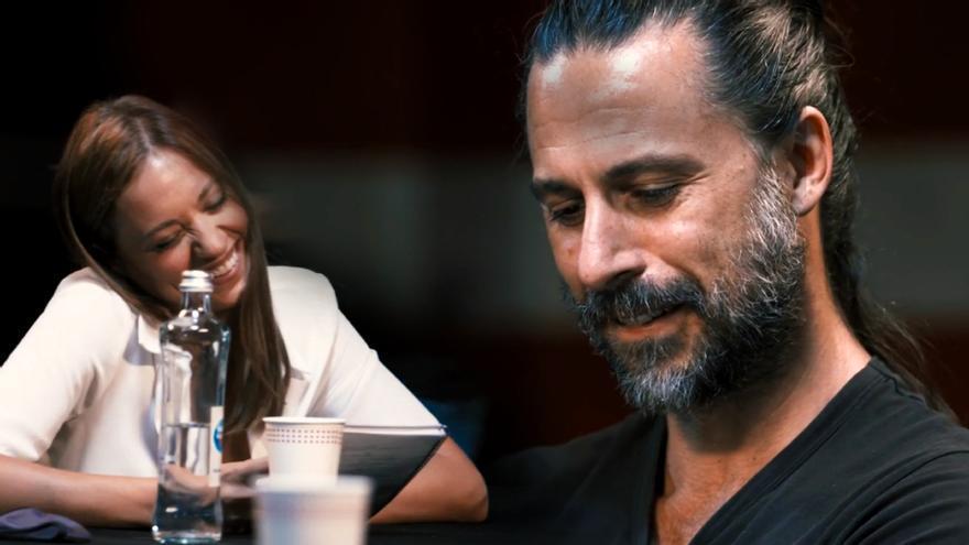 Michelle Jenner y Hugo Silva