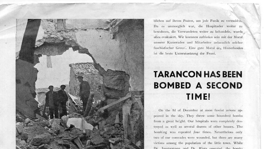 Publicación norteamericana dedicada a Tarancón / Cortesía de Ray Hoffman