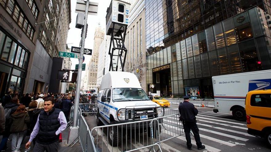 """Manhattan sufre el caos de una """"filial"""" de la Casa Blanca en plena 5 avenida"""
