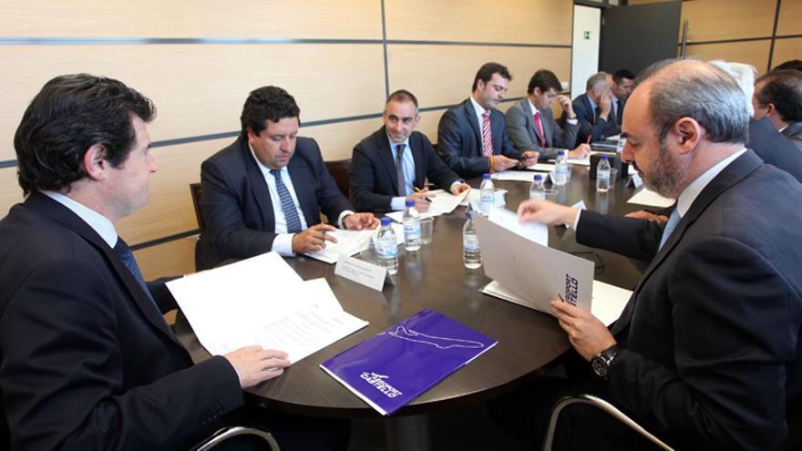 El vicepresidente del Consell, José Císcar, preside el consejo de administración de Aerocas