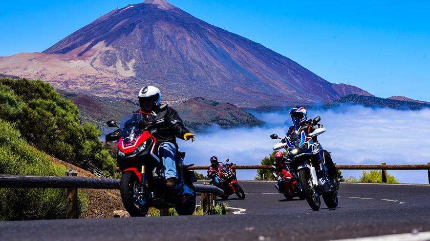 La firma nipona ha matriculado en Canarias 1.052 motocicletas durante el primer semestre del año, superando al segundo competidor en más del doble de unidades.