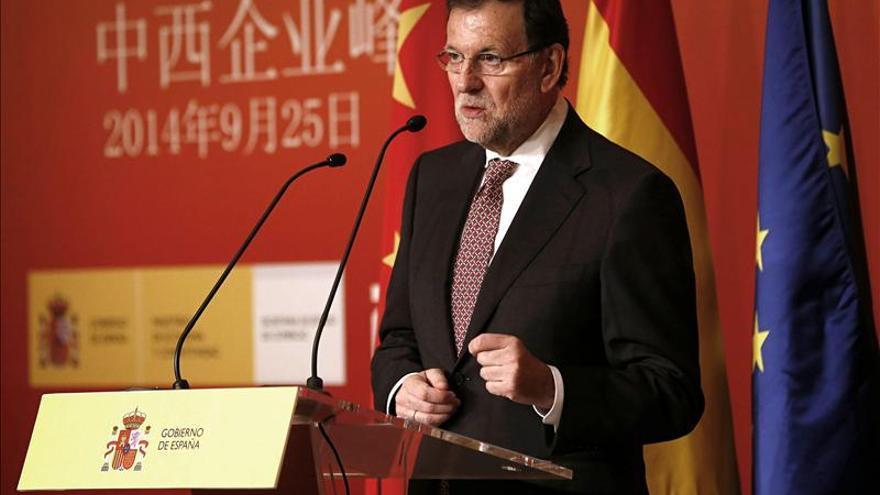 Rajoy llama a la inversión a empresarios chinos tras las reformas en España
