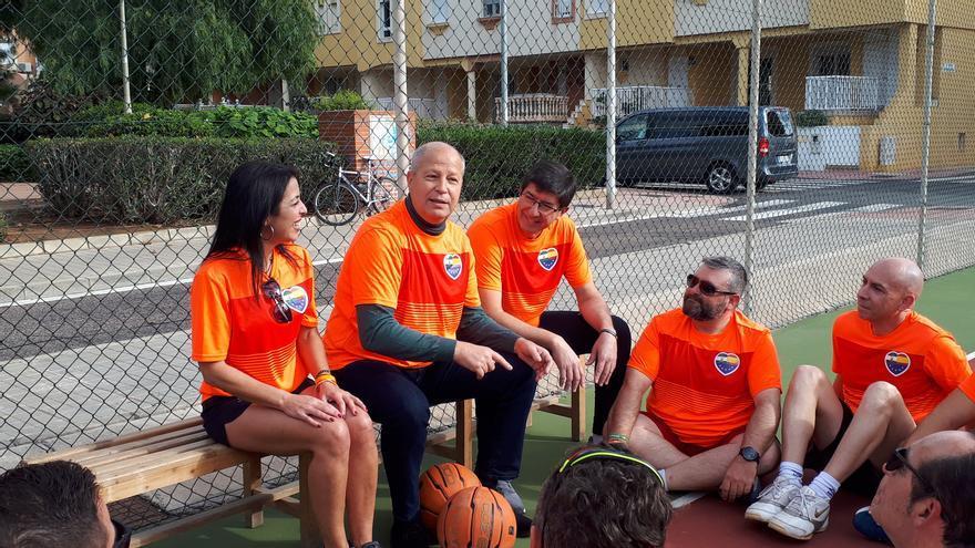 Javier Imbroda, con Juan Marín y Marta Bosquet, en Almería | N.C.