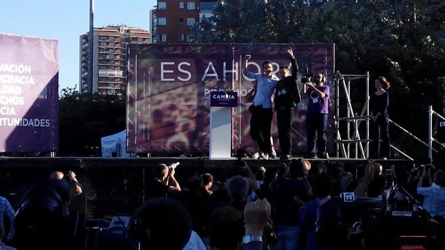 """Podemos canta a Aguirre: """"Cinco corruptos tiene la loba: Güemes, Lamela, López Viejo, Granados y ático de González"""""""