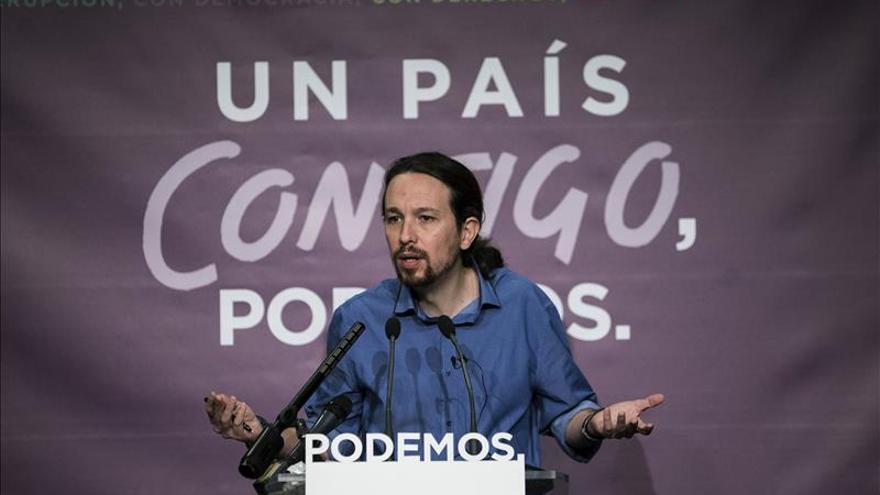 Iglesias carga en el PSOE la responsabilidad de impedir un Gobierno de Rajoy