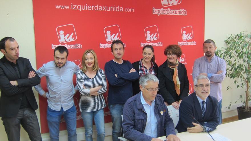 """Gaspar Llamazares: """"Izquierda Unida está viva y tiene su corazón en Asturias"""""""