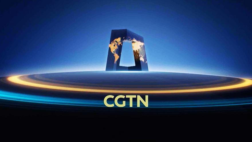Logo del canal chino CGTN