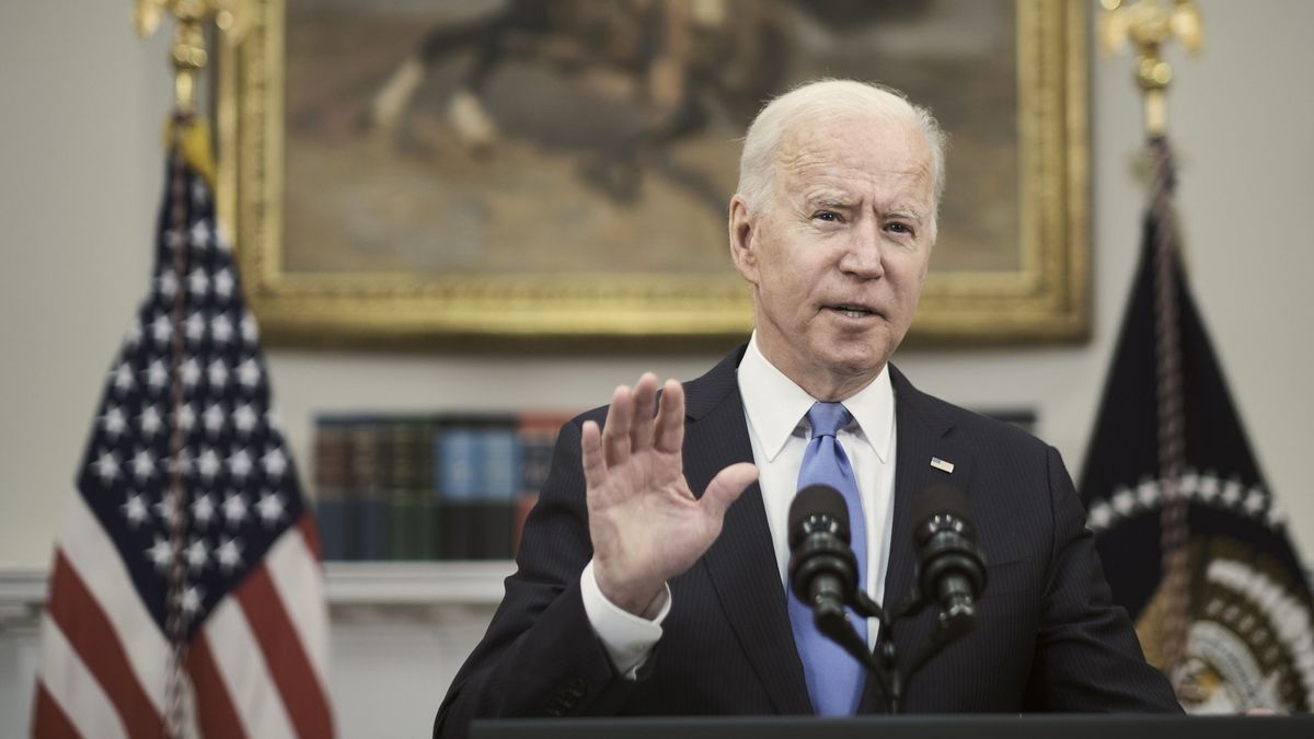 El presidente de EE.UU., Joe Biden. EFE/EPA/T.J. Kirkpatrick / POOL/Archivo