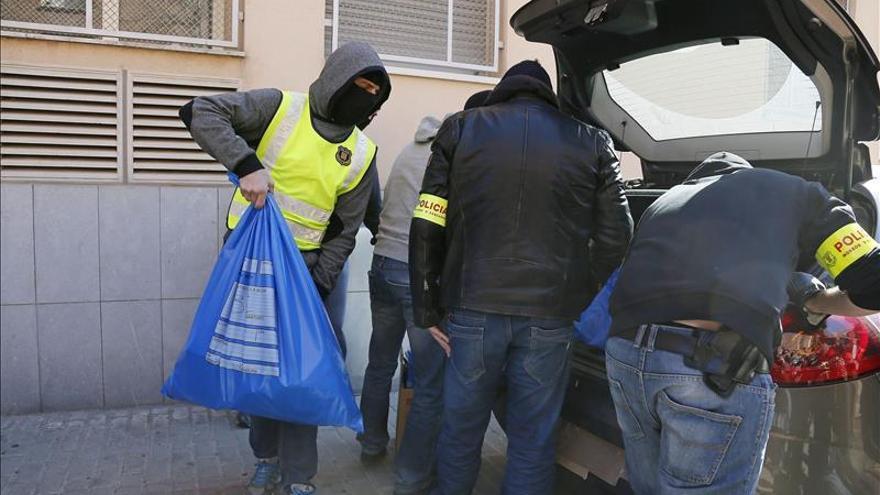 Operación contra el tráfico de drogas en Barcelona