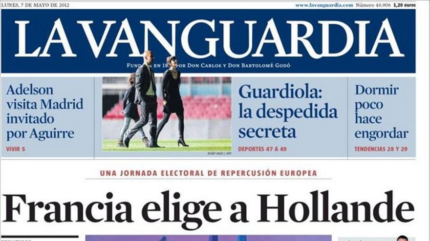 De las portadas del día (07/05/2012) #11