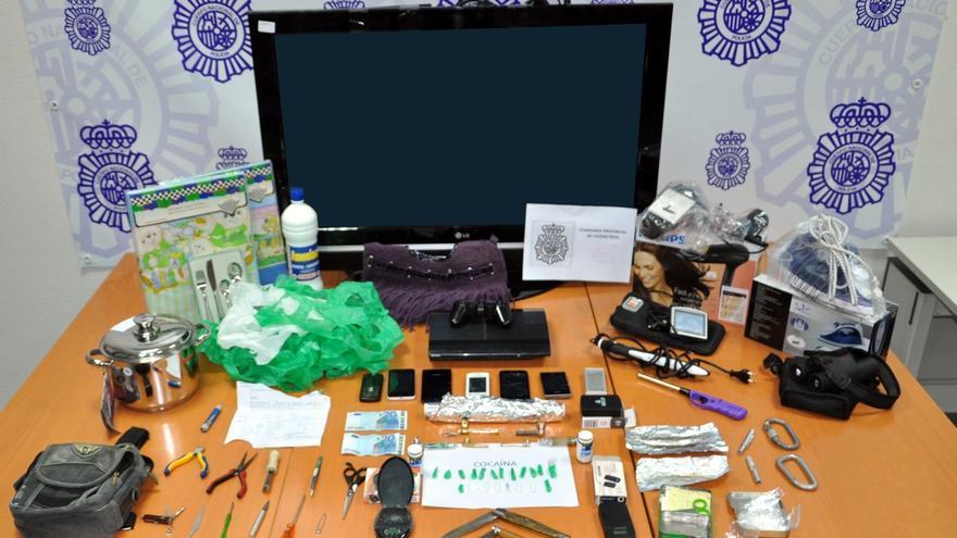 La Policía detiene a tres personas y desactiva un punto de venta de droga en la zona centro de Ciudad Real