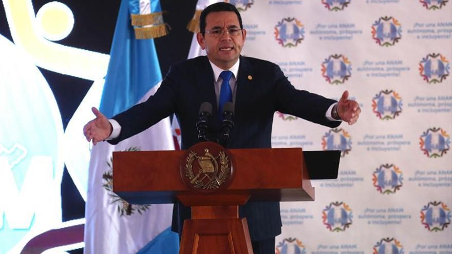 La Corte Suprema rechaza desafuero del presidente de Guatemala