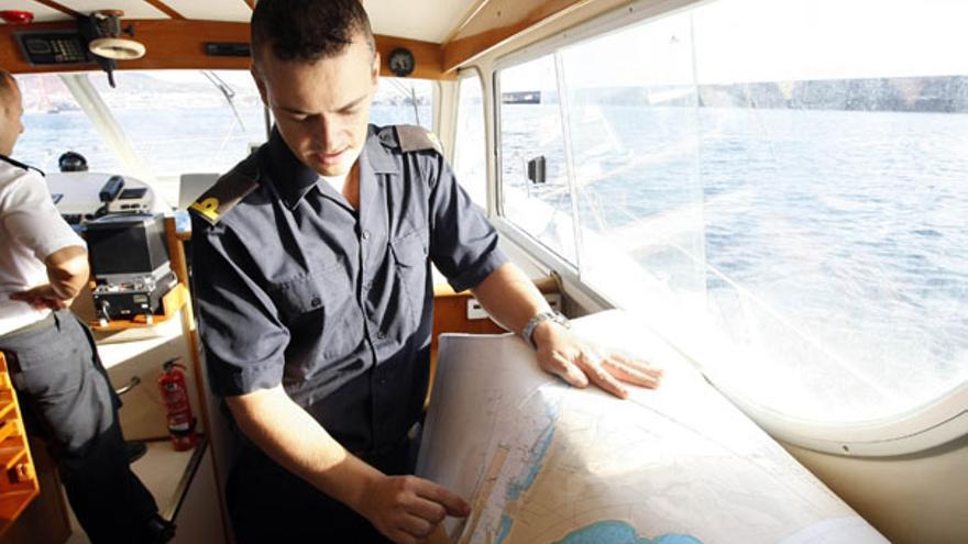 Canarias actualiza su mapa de fondos marinos