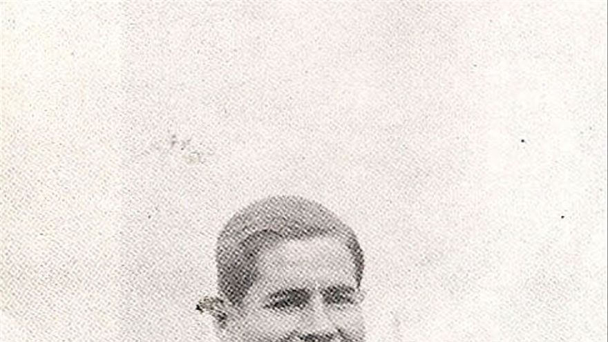 Ángel Arocha, jugador del FC Barcelona a comienzos del siglo pasado.