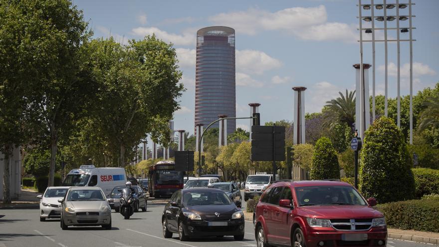 El tráfico se acceso a Sevilla empieza a recuperarse y supone un 43% del previo a la alarma