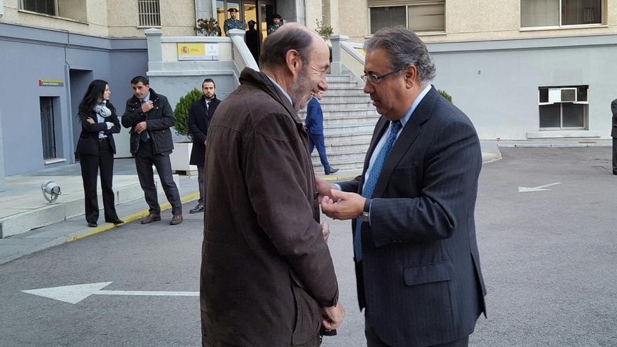 """Zoido asegura que el mejor desarme de ETA es el que desarrolla """"ordenadamente"""" la Guardia Civil"""