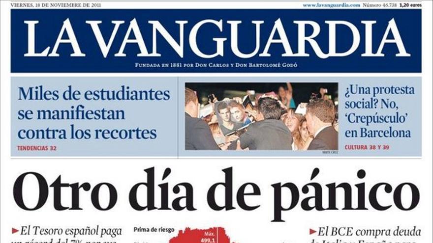 De las portadas del día (18/11/2011) #12