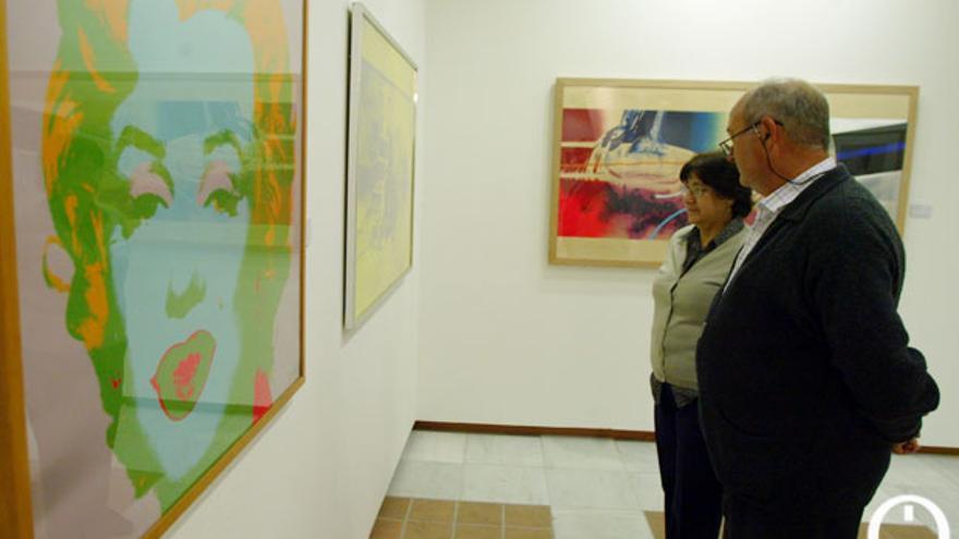 Imagen de archivo de una exposición en la Sala Puertanueva, gestionada en parte por la Fundación Botí. | MADERO CUBERO