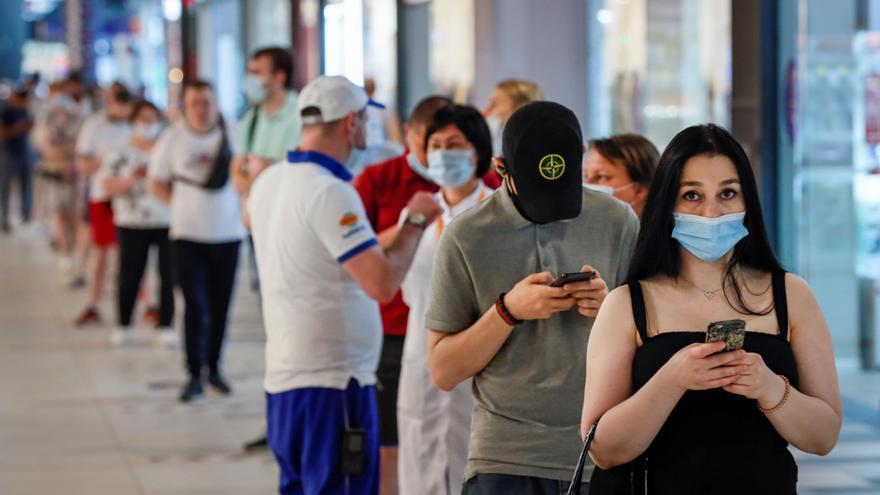 Moscú alcanza los 114 muertos diarios, el máximo desde marzo de 2020