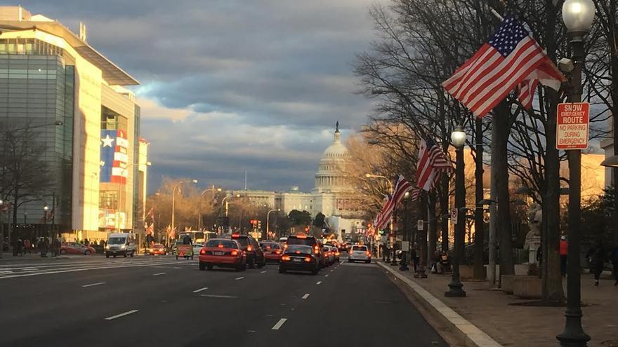 Las autoridades esperan la llegada de cerca de un milón de personas a Washington para los actos oficiales del 'Inauguration Day'.