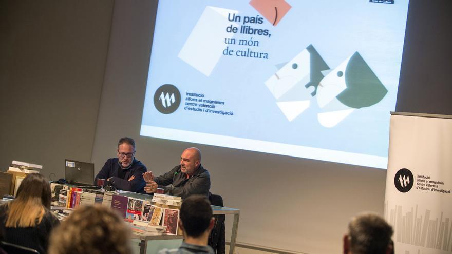Vicent Flor y Xavier Rius hacen balance de la actividad de la Institució Alfons el Magnànim