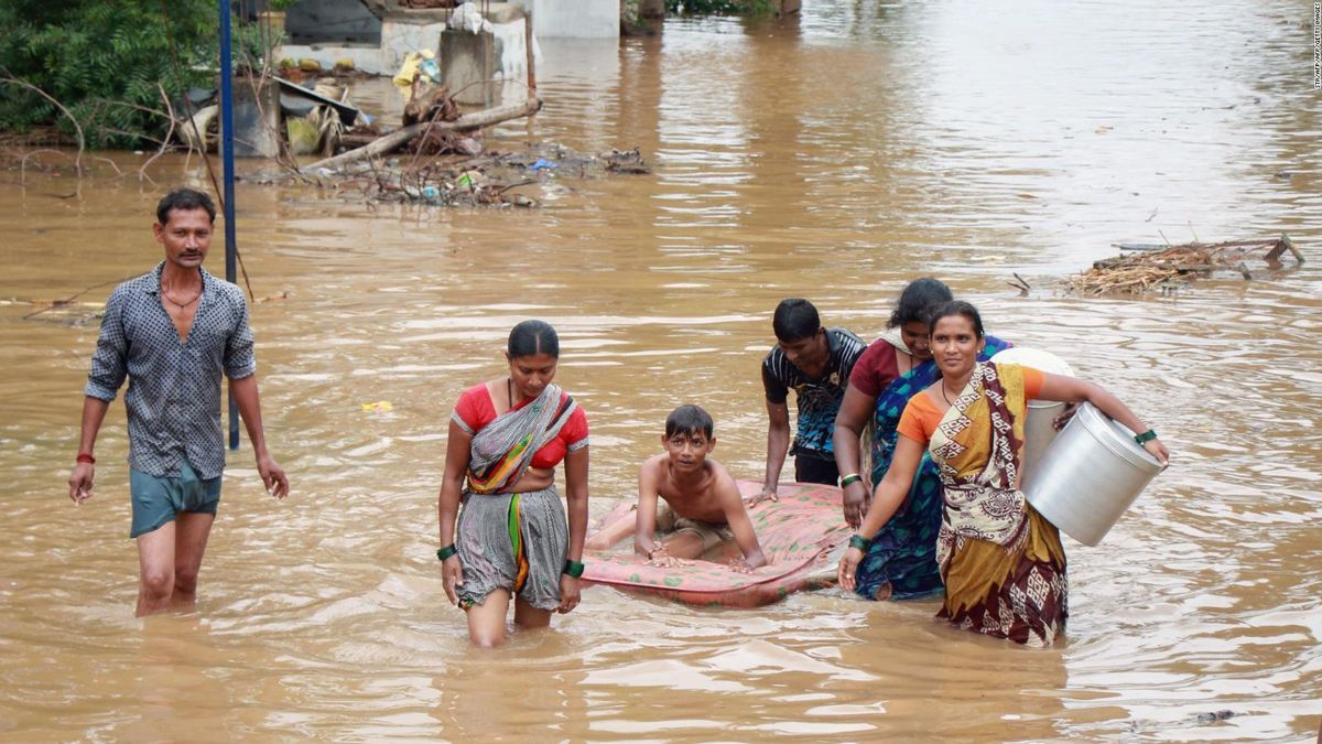 Los fenómenos peligrosos relacionados con el agua son los grandes causantes de los desastres de los últimos 50 años